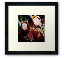 ♕ Weasley ♕ Framed Print