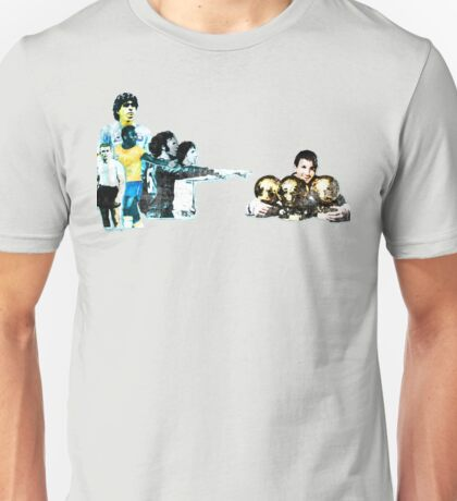 Messi - Better than the rest Unisex T-Shirt