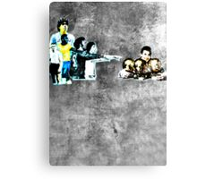 Messi - Better than the rest Canvas Print