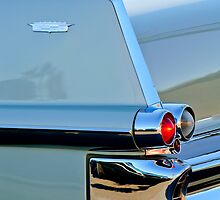 1957 Cadillac Taillight by Jill Reger