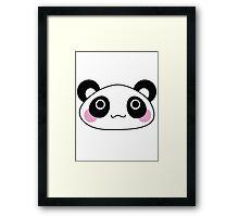 Cute Panda Framed Print