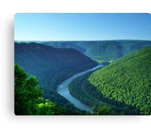 New River Gorge, West Virginia Canvas Print