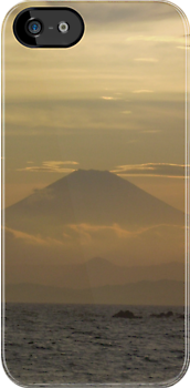 Mt. Fuji Sunset I by Mui-Ling Teh
