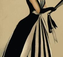Fancy dresses described or What to wear at fancy balls by Ardern Holt 184 Magpie Sticker