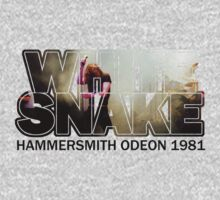 Whitesnake Hammersmith Odeon 1981 by Jonathan Carre