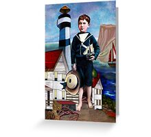A SAILOR'S LIFE FOR ME Greeting Card