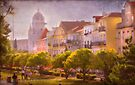 Belém III and the Monastery by terezadelpilar ~ art & architecture