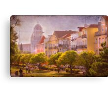 Belém III and the Monastery Canvas Print