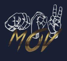 Sign Language MOV Logo Baby Tee
