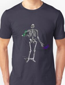 Skeleton holding birds T-Shirt