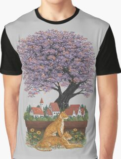 Bonsai Village Graphic T-Shirt