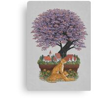 Bonsai Village Canvas Print