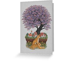 Bonsai Village Greeting Card