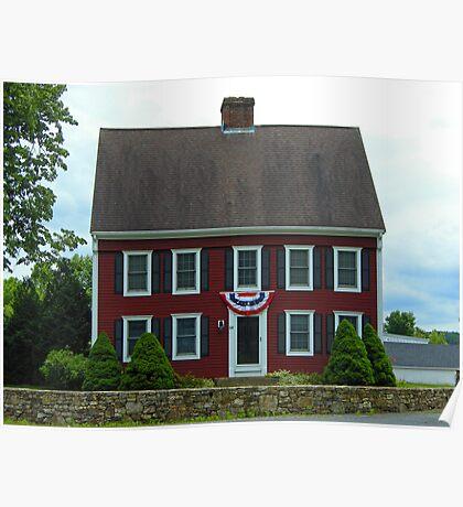 New England Saltbox  Poster