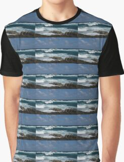 Boiling the Ocean at Laie Point, Oahu's North Shore in Hawaii Graphic T-Shirt