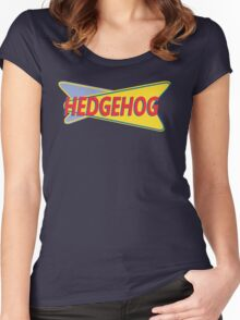 Hedgehog Drive In Women's Fitted Scoop T-Shirt