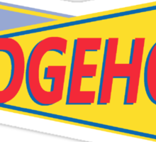 Hedgehog Drive In Sticker