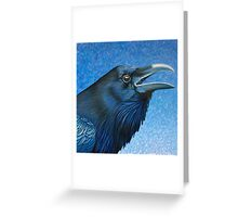 A Ravens Prayer Greeting Card
