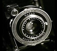 Vintage Kodak Junior Six 20 Camera by Magaly Burton