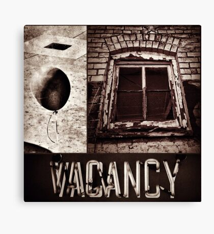 Vacant Expression Canvas Print