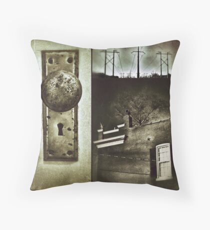 Secret Sympathies Throw Pillow