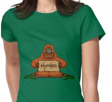 Homeless Orang-utan Womens Fitted T-Shirt