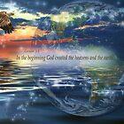 Genesis 1:1 by Kelly Rockett-Safford