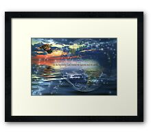 Genesis 1:1 Framed Print