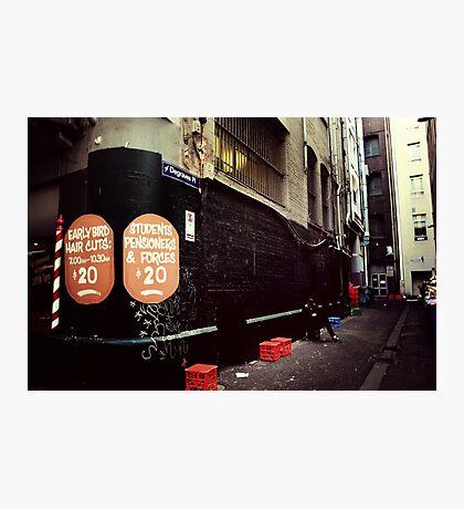 Melbourne streetscape Photographic Print