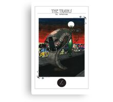 L train Canvas Print