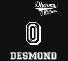 Dharma All-Stars! Desmond jersey by atlasspecter