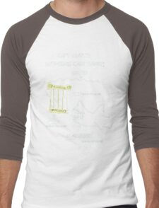 Farewell and Adieu... Men's Baseball ¾ T-Shirt