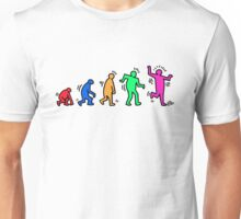 HARING EVOLVES by Tai's Tees Unisex T-Shirt