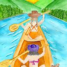 canoe trip by Hbeth