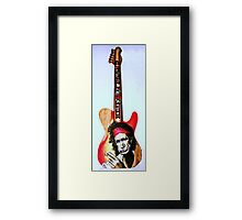 Keif Riffhard-It's only Rock n Roll Framed Print