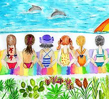 girls day out at the beach by Hbeth