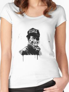 Party On, John Women's Fitted Scoop T-Shirt