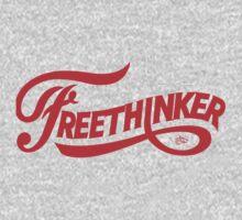 FreeThinker Vintage by Tai's Tees Kids Tee