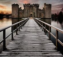 Bodiam Castle by Alex  Cowley
