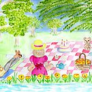 teddy bears picnic by Hbeth