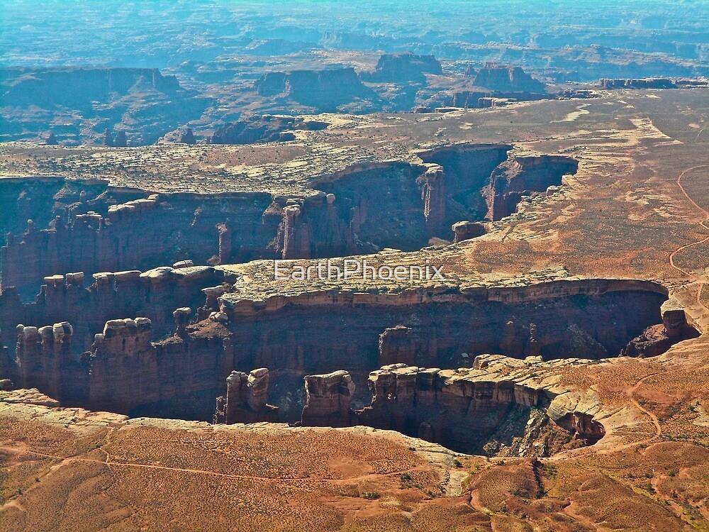 God's handprint Canyonlands N.P. by EarthPhoenix