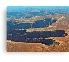 God's handprint Canyonlands N.P. Canvas Print