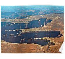 God's handprint Canyonlands N.P. Poster