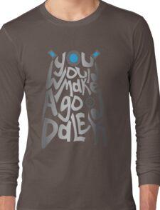 Good Dalek Long Sleeve T-Shirt