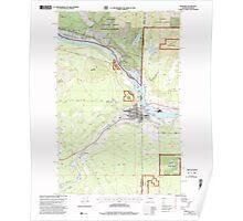 USGS Topo Map Washington State WA Newport 242818 1996 24000 Poster