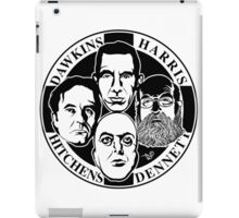Four Horsemen: New Atheists by Tai's Tees iPad Case/Skin
