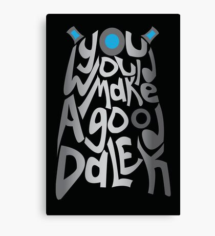 Good Dalek Canvas Print