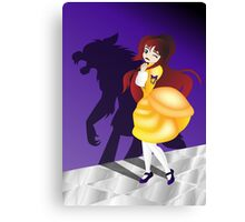 Twisted Tales - Beauty and the Beast Canvas Print