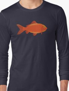 A Simple Goldfish. Long Sleeve T-Shirt