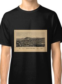 Panoramic Maps Jewett City Conn Classic T-Shirt